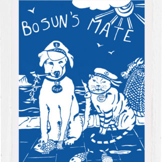 art print bosun's mate by tracy evans for port and lemon