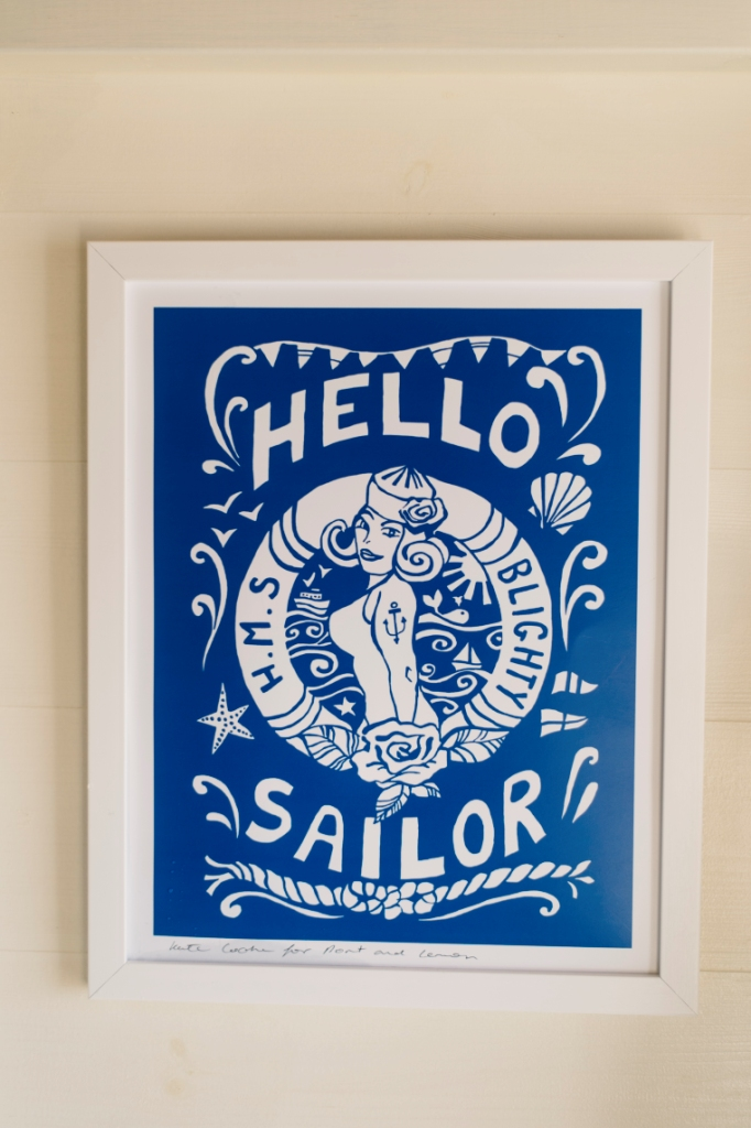 Art Print - Hello Sailor