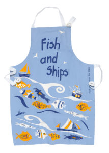 Fish and ships apron