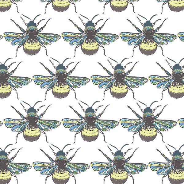 a load of bee greetings card by christian dakin brown for port and lemon
